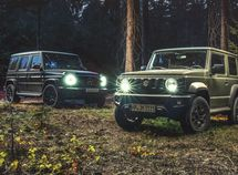 Battle of muscles! How many Suzuki Jimny it takes to win a Mercedes AMG G 63?