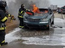Woman drives used car, only to go up in flames 22 minutes later after purchase