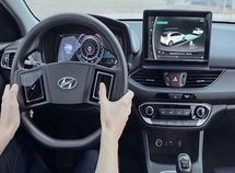 Reinventing the wheels - Hyundai introduces hi-tech steering wheel with touchscreen!