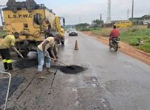 Over 87 major roads now enlisted by Lagos state Govt for immediate potholes repair across the state