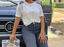 18-year-old Regina Daniels is at it again! She just got herself a new G-Wagon Brabus SUV