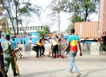 Tragic! LASTMA female officer crushed to death by trailer