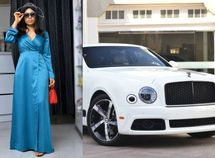 BBNaija star - Nina Ivy claps back at Blogger over Bentley rental allegation