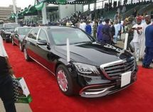 2019 Nigerian presidential Inauguration: Buhari arrived in Mercedes Benz S-Class S560!