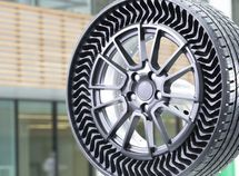 Michelin and General Motors introducing airless tires by 2024