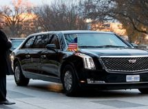 6 armored official state cars that match Donald Trump's Beast Cadillac One
