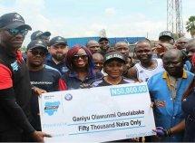 Talented female mechanic in Ibadan celebrated in appreciation by BMW Club Nigeria