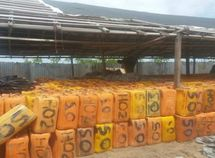 Nigerian Navy news today: 3,181 jerry cans of stolen petrol worth ₦11million intercepted