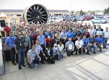 Boeing GE9X engine officially recognized as the world's most powerful jet engine
