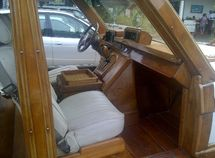 Hot trend in Kenya: Riding in wooden Range Rover SUV!