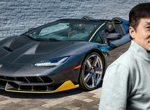 Kungfu legend! Luxury cars in Jackie Chan's collection