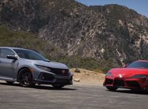 The latest Toyota Supra vs Honda Civic Type R: Comparing two sporty great rides!