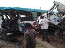 Dangote truck collides with BRT bus, kills 3, injuries 59 passengers