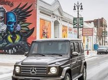Artists file lawsuit against Mercedes-Benz using their paintings alongside G-Wagon on social media