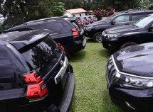 Governor Akeredolu buys 16 Prado SUVs for Ondo judges, worth at least N30m each