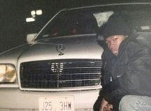 50 Cent shares the old photo of himself and his vintage Benz when he is 19