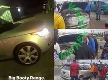 ₦175m Range Rover Autobiography belonging to Burna Boy caught fire along Lekki-Epe Expressway