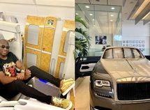 Nigerian billionaire Mompha becomes the first African to acquire the 2020 Rolls-Royce Wraith Eagle VIII