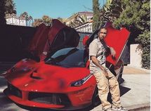 Kylie Jenner's ex, rapper Tyga, acquires a N451 million Ferrari LaFerrari