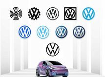 See 9 Volkswagen discarded designs before coming to its new logo today!