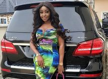 Hot Nigerian female celebrities with most luxury cars