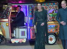 Royal Keke! Prince William and Kate Middleton go stylishly simple in a tricycle