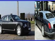 This ₦900m armored Bentley Mulsanne can withstand 15kg TNT explosives