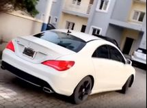 See how Toyin Abraham test drives her new Mercedes Benz!