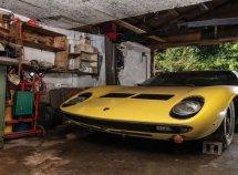 Abandoned 1969 Lamborghini Miura found in garage, auctioned for ₦482.5 million