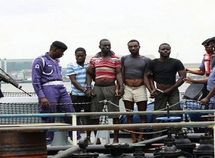 Navy arrests 5 suspected vandals, recovers 136 jerry cans of stolen petrol