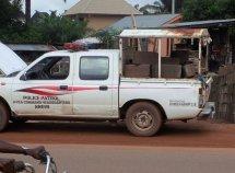 Police patrol van ran against traffic, crushed 2 dead on Lagos-Ibadan