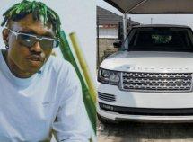 Zlatan Ibile acquires brand new Range Rover SUV for his 25th birthday