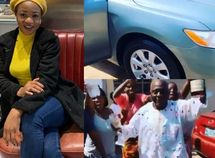 Francisca Ordega gifts her father Toyota Camryto celebrate Christmas