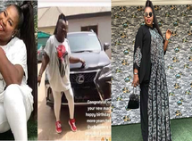 Nollywood film producer, Uche Nancy celebrates birthday with new Lexus RX 350