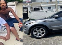 Naira Marley gifts female best friend brand-new ₦23 million Range Rover Evoque for birthday