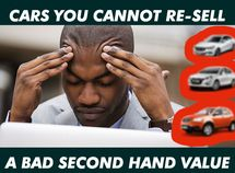 Top 10 cars with worst resale values in Nigeria