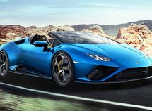 Lamborghini unveils the 2021 Huracán Evo Spyder sportscar with Rear-Wheel-Drive