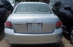 Honda Accord 2008 Silver
