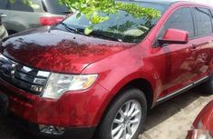 Ford Edge 2008 Red for sale in Yobe