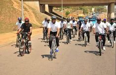 Cars may be replaced by bicycles on Nigerian roads