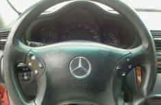 Mercedes-Benz C200 2002 Red