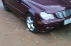 Clean Used Mercedes Benz C320 2002 Wine