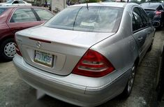 Mercedes Benz C320 2002 Silver