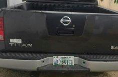 Clean Nissan Titan 2012 Gray
