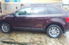 2011 Ford Edge Wine Colour ( exclusive clean }