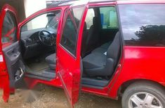 Volkswagen Sharan 2001 Red For Sale