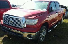 Sparkling Red Toyota tundra for sale