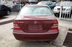 Maroon Colored 2002 Mercedes Benz C320 In Excellent Driving Condition