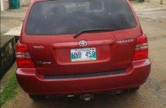 Toyota Highlander 2001 Red For Sale