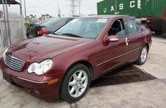 Tokunbo Mercedes-Benz C320 2002 Red